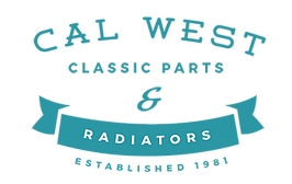 Cal West Classic Parts & Radiators logo and link