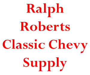 Ralph Roberts Classic Chevy Suppy logo and link