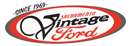 Sacramento Vintage Ford logo and link