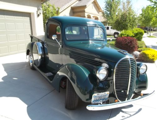 39 Ford Half-Ton Pickup For Sale