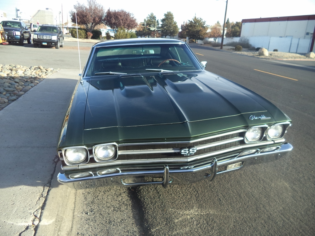 1969 Chevy Cheville Coupe – SOLD